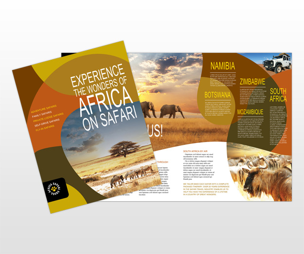 Travel \ Tourism Brochures \ Flyers - Word \ Publisher Templates - template