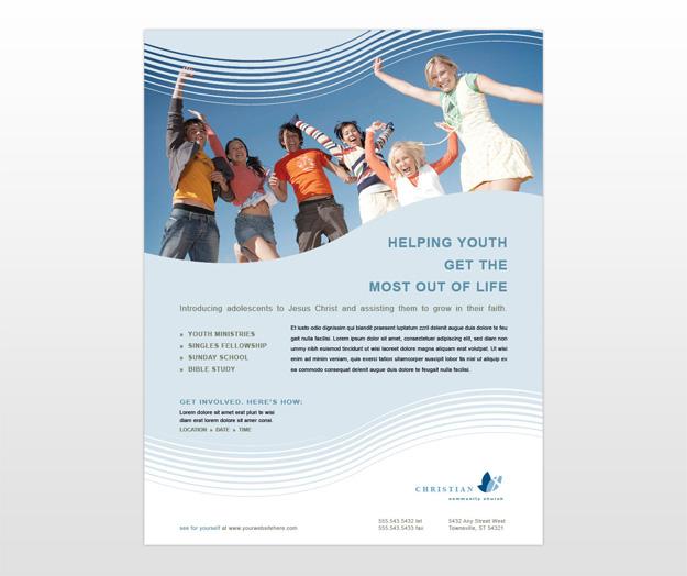 christian church flyers templates