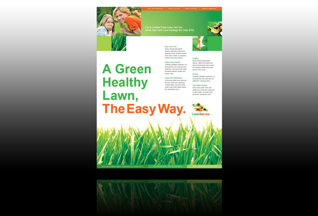 mowing flyers - Intoanysearch