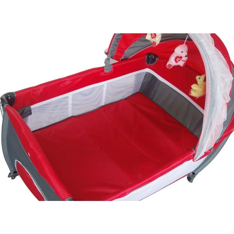 Baby Cots Brisbane Australia Baby Travel Portacot Playpen W Carry Bag In Red Buy