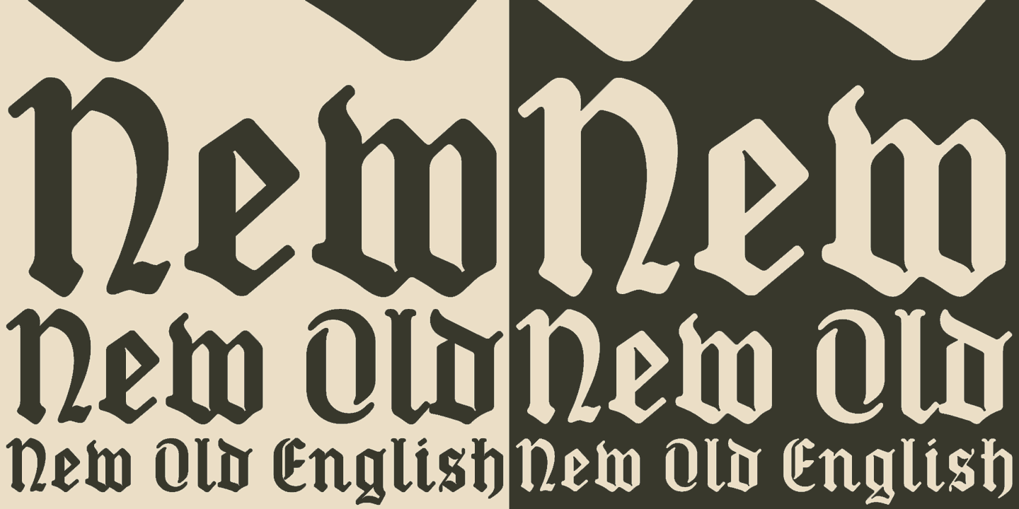 Are Old English New Old English Webfont Desktop Font Myfonts