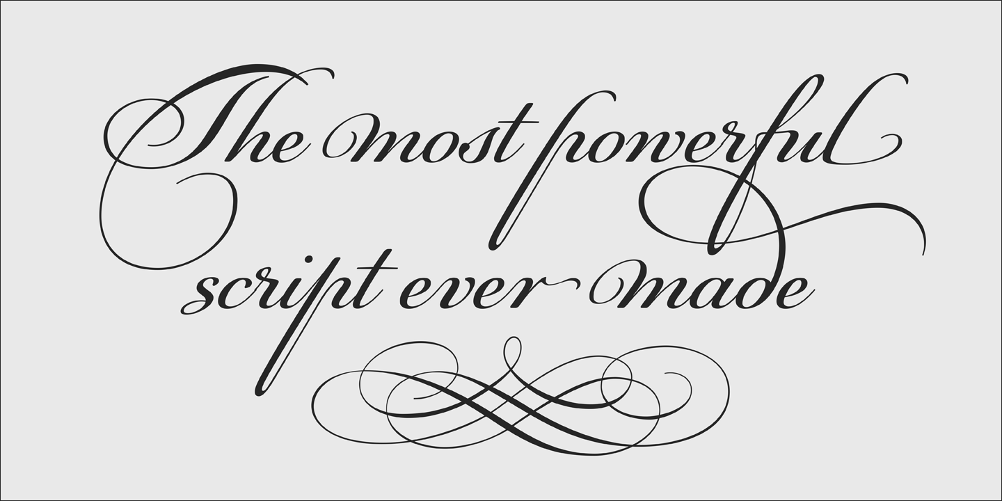 Copperplate Calligraphy Font Free Tag Spencerian Myfonts