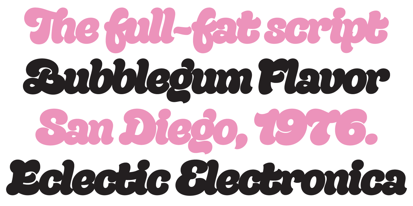 Electronica Medium Font Tag Bubble Myfonts