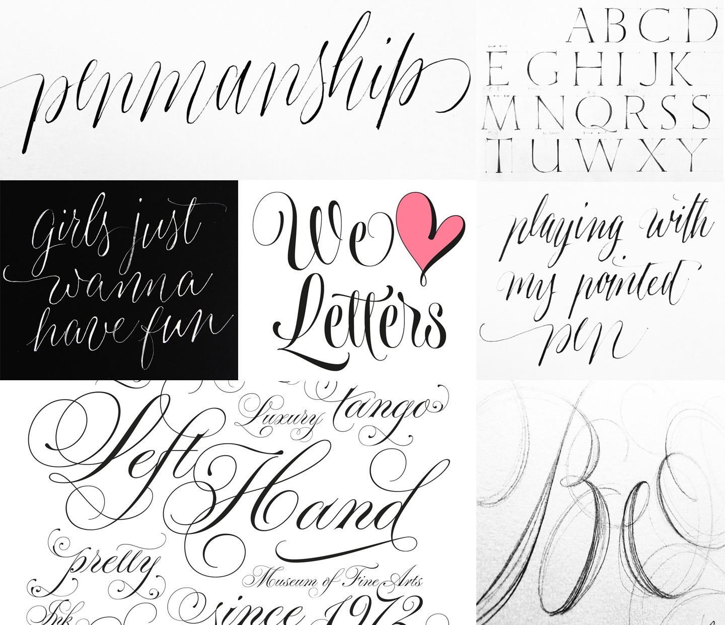 Calligraphy Fonts List Typesenses Myfonts