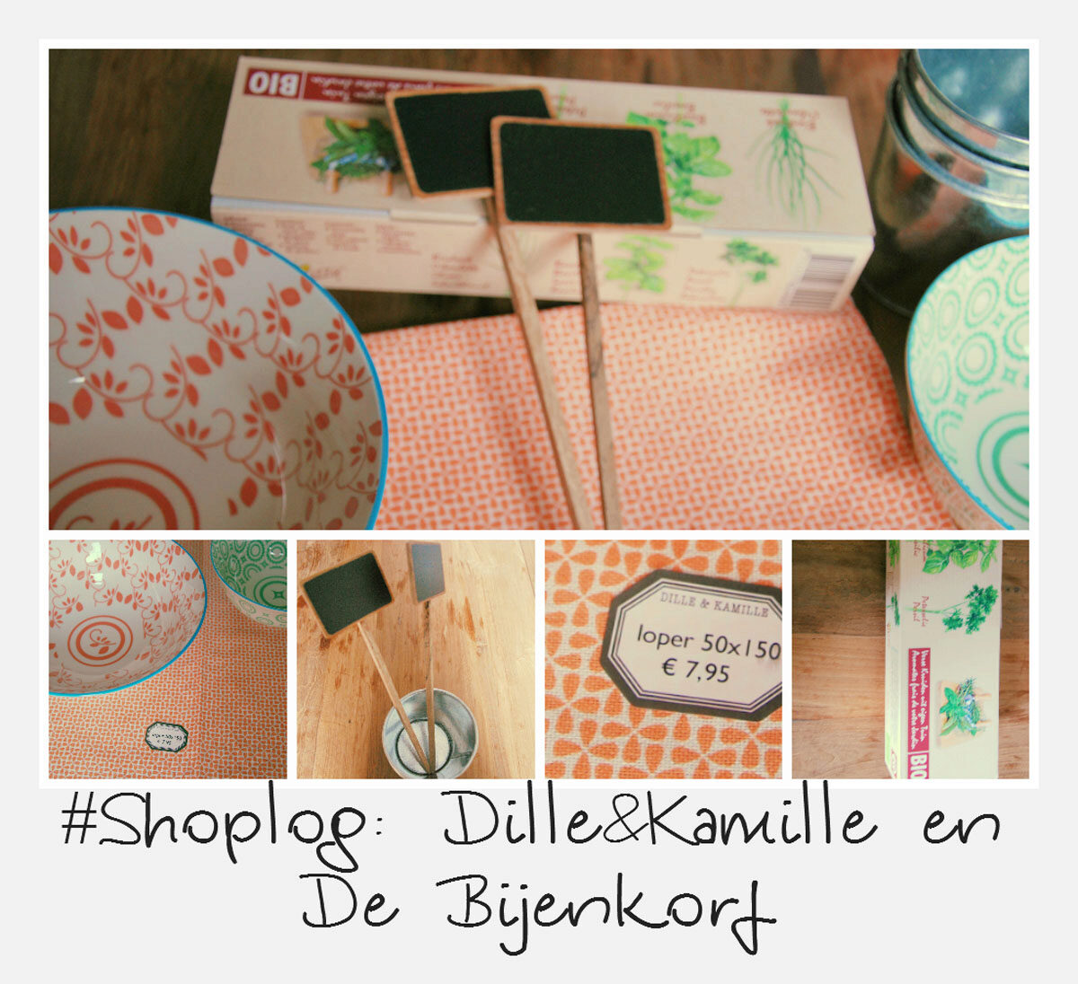 Dille Kamille Amsterdam Shoplog Dille And Kamille De Bijenkorf My Food Blog