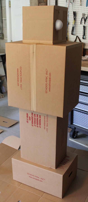 Cute Amazon Box Robot Wallpaper Cardboard Robot Kidlist