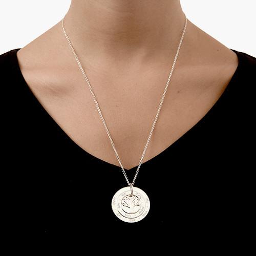 2 monogram necklace