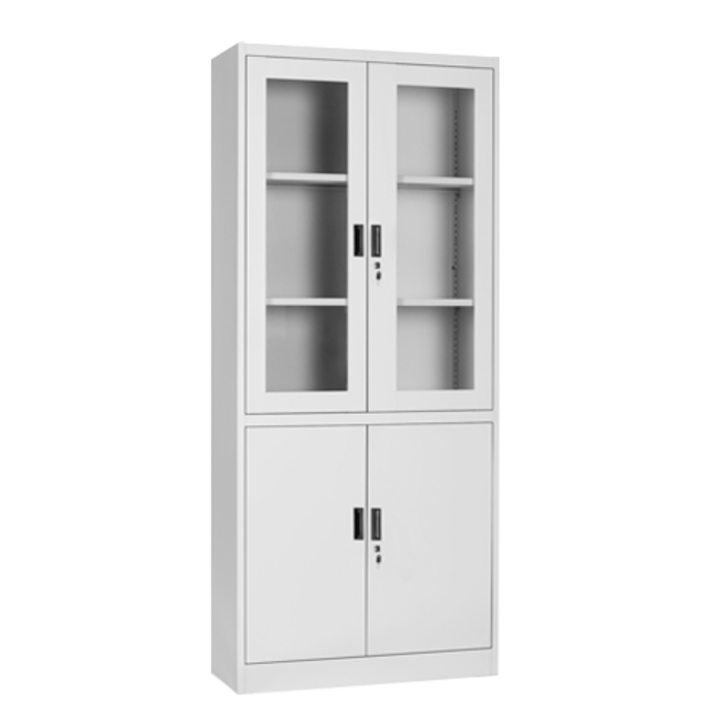 Full Height Kitchen Cabinets Fc H2 Full Height Swing And Glass Door Cabinet