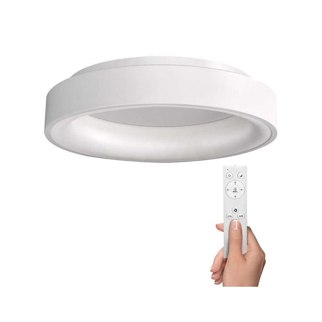 Solight Led Deckenleuchte Treviso 48w 2880lm Dimmbar Fernbedienung Rund Ledaktion Co At