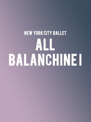 David H Koch Theater, New York, NY - New York City Ballet - 21st