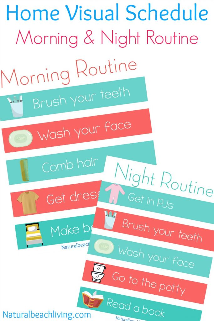 5 Benefits of Having a Daily Routine for Children - Natural Beach Living