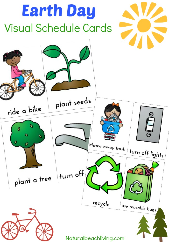 50+ Preschool Earth Day Theme Activities - Earth Day Activities for
