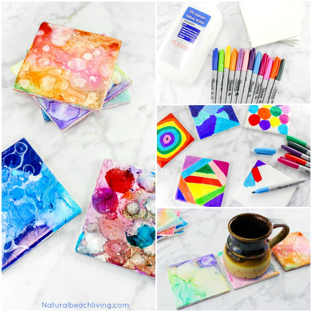 Art And Craft For Preschool Tile Art For Kids That Everyone Will Enjoy Best Tile Art Idea