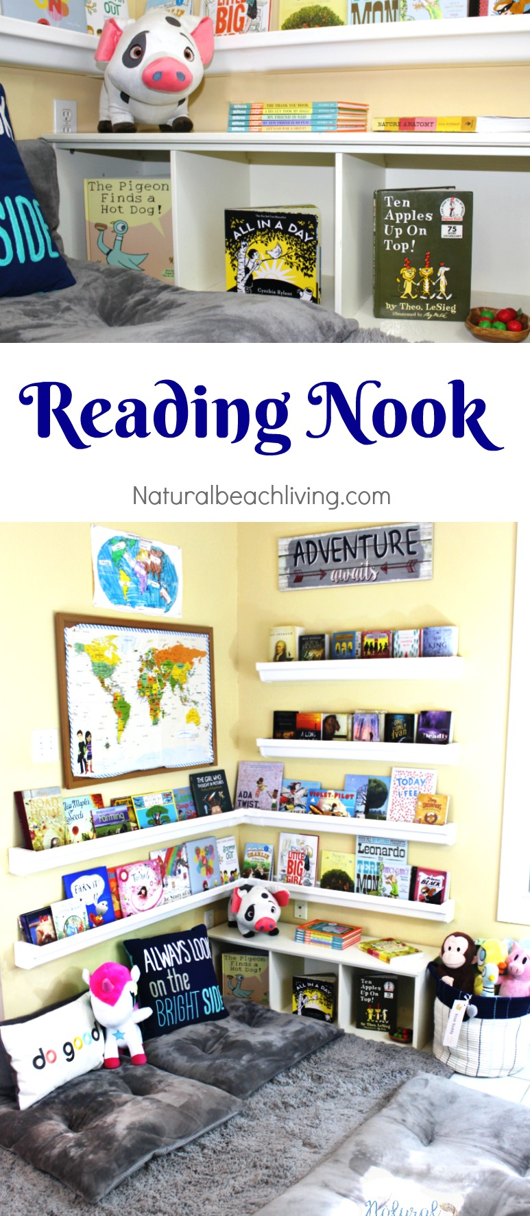 Bookshelves For Kids How To Set Up A Reading Nook Kids Love Plus Diy Rain Gutter