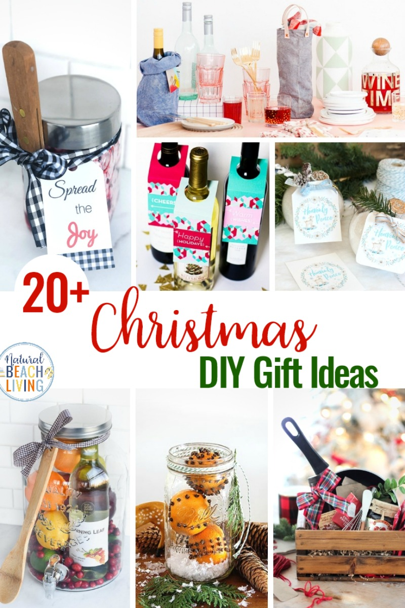Christmas Homemade Gifts 21 Diy Christmas Gifts For Friends Natural Beach Living