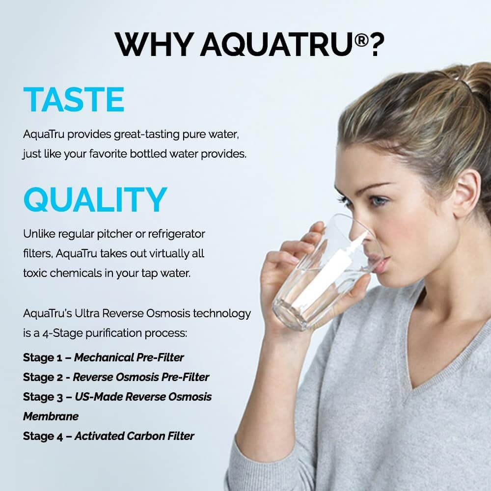 Aquatru Water Filter Review How To Purify Tap Water