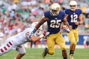 ND RB Tarean Folston