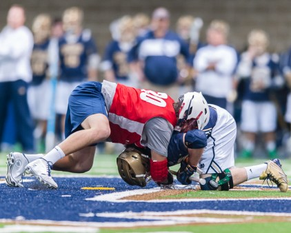 Men's Lacrosse Exhibition, By Zachary Llorens