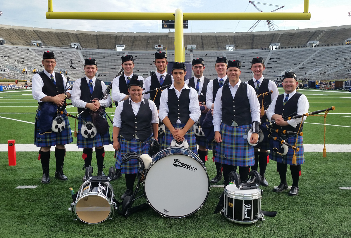 Bagpipe Band Enters 15th Season Of Entertaining Fans