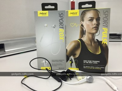 Jabra Sport Pulse and Sport Rox Review: For the Athlete in You | NDTV Gadgets360.com