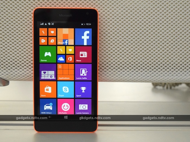 Was Ist Smart Home Microsoft Lumia 535 Dual Sim Review: Off To A Shaky Start