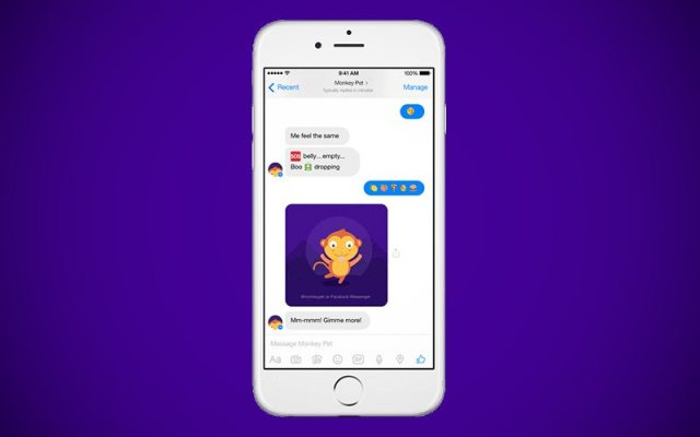 Yahoo Launches 4 Bots for Facebook Messenger and One of Them Is a Monkey