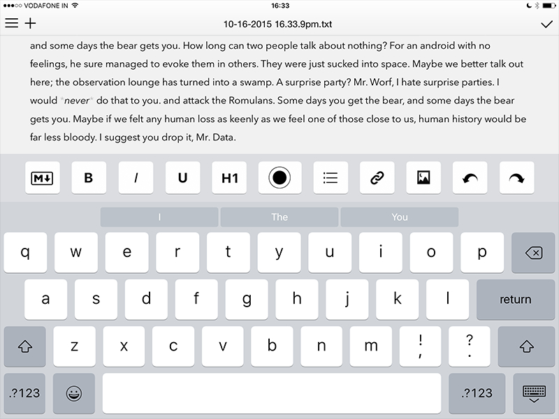 10 Best Writing Apps for iOS and Android NDTV Gadgets360