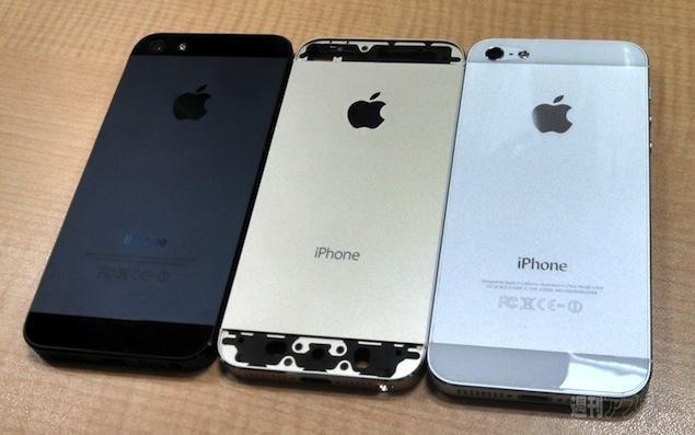Iphone 5s Pictured Again In Gold Colour More Evidence
