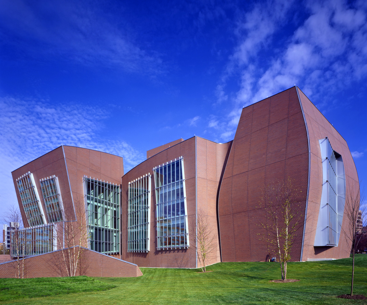 Frank Gehry Architecture Vontz Center For Molecular Studies Cincinnati Vontz
