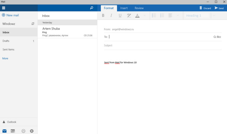 Windows 10 build 10051 has new mail and calendar apps - Neowin