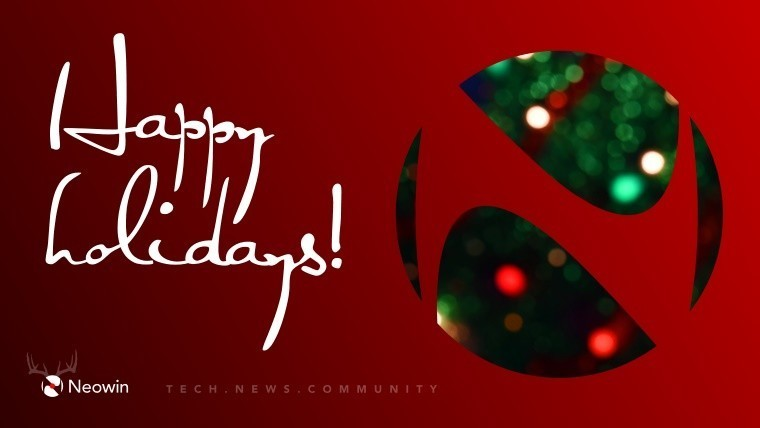 Neowin wishes you a Happy Holidays, and a chance to win a free