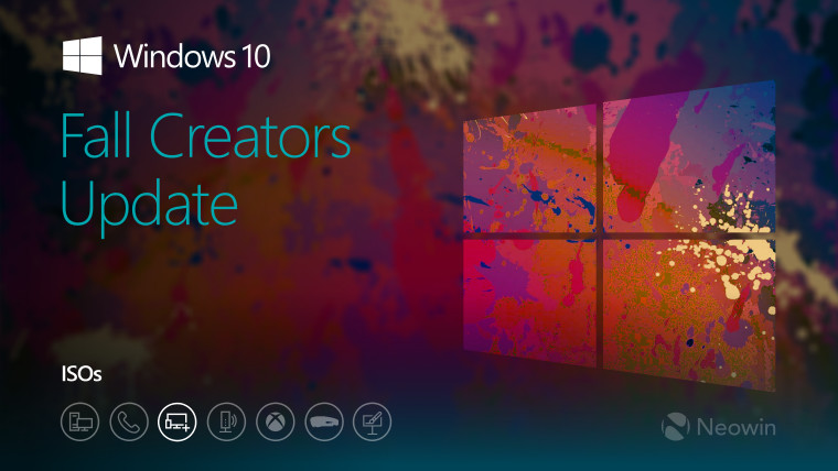 Evaluation ISOs for Windows 10 version 1709 are now available - Neowin
