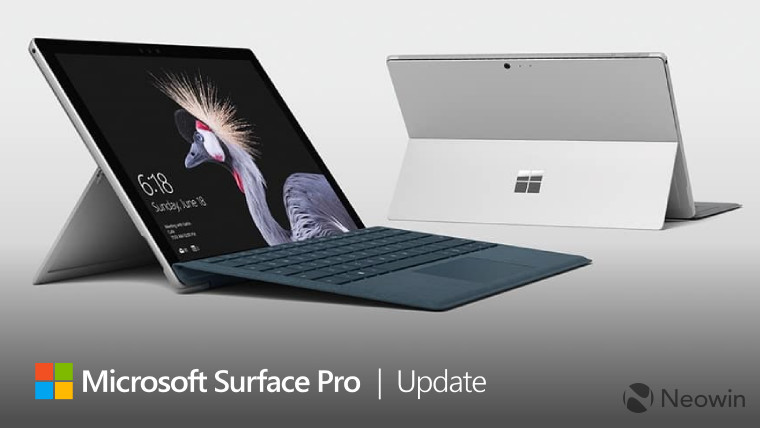 Microsoft\u0027s latest Surface Pro update enables support for Windows 10