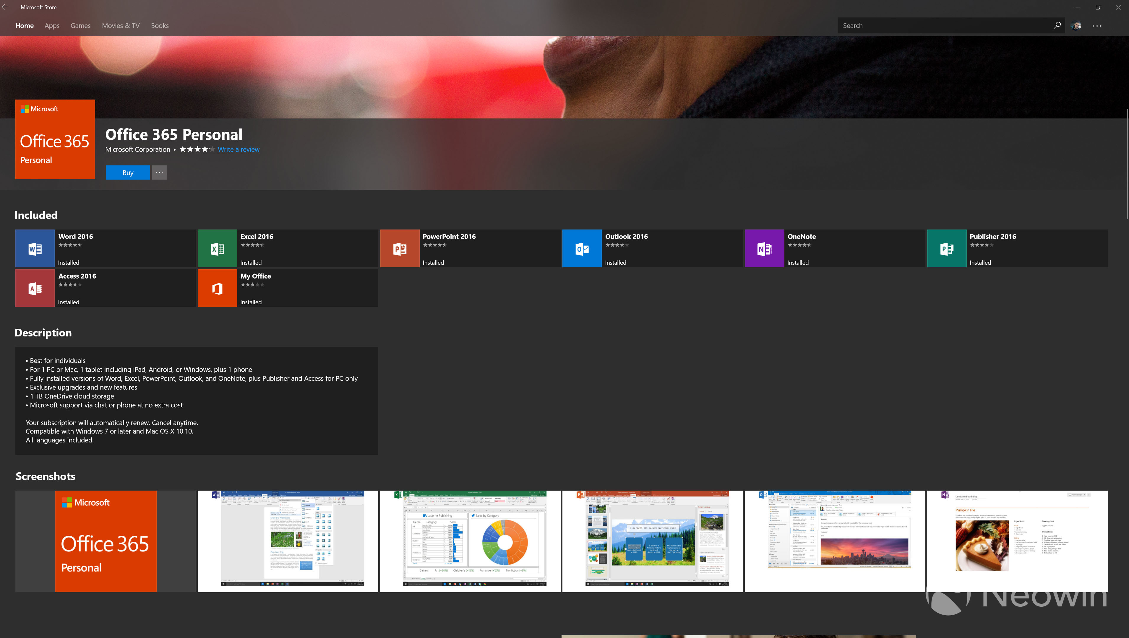 Office 365 Microsoft Access Office 365 Comes Out Of Preview In The Microsoft Store Neowin