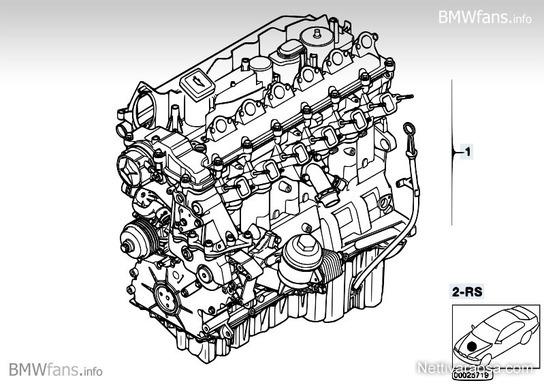 Nettivaraosa - bmw e60 e61 e90 Moottori M57N2 2008 - 330D ja 530D