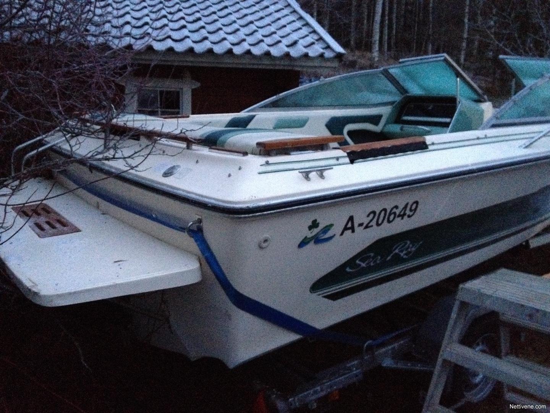 Sea Ray Monaco 187 Br Motor Boat 1987 Lohja Nettivene