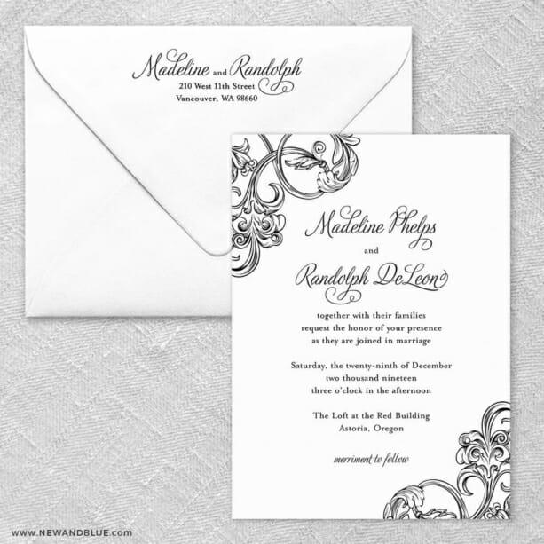 Amsterdam - Wedding Invitations