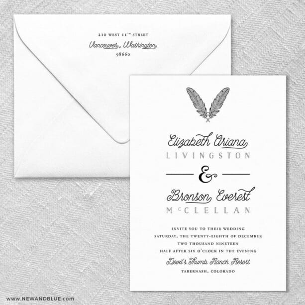 Scout - Wedding Invitations