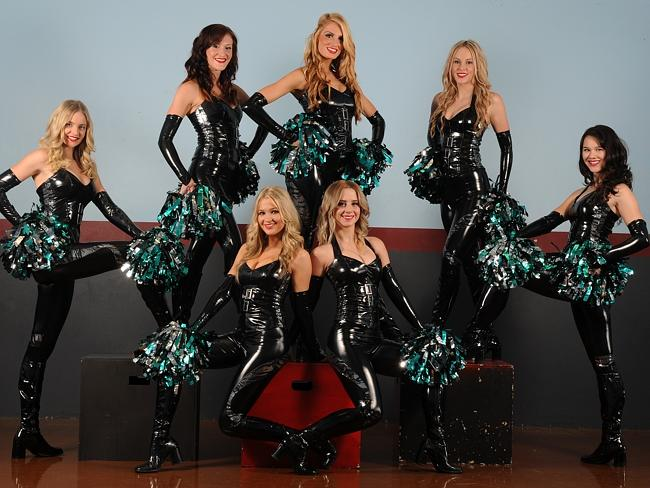 Carolina Panthers Girl Wallpaper New Look Panthers Cheer Squad Turn Up The Heat In The Nrl