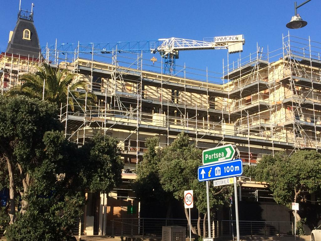 Continental Hotel Sorrento Continental Hotel Redevelopment Stops With Future Of