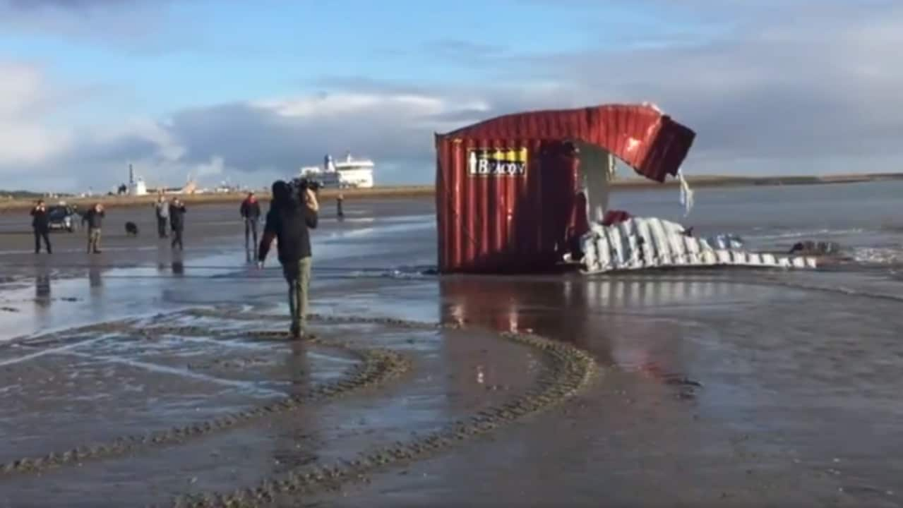 Container Oldenburg Video The Australian