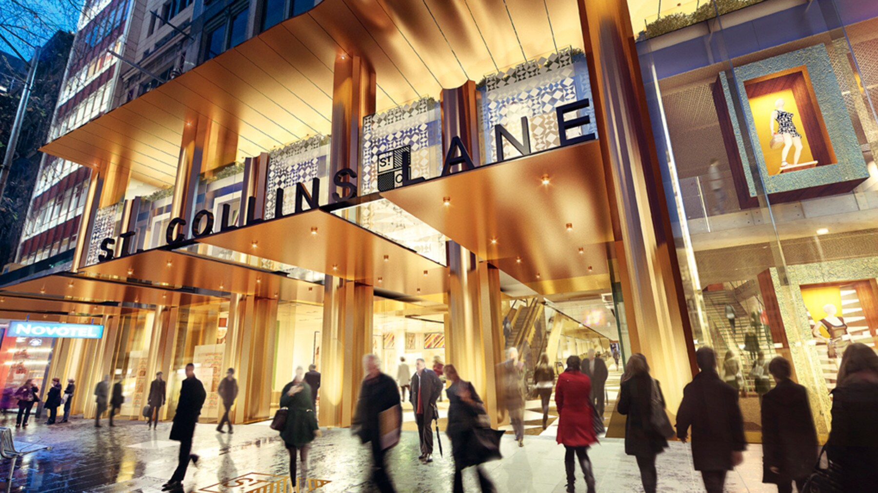 Shopping Com Au Melbourne S Newest Luxury Shopping Destination Vogue Australia