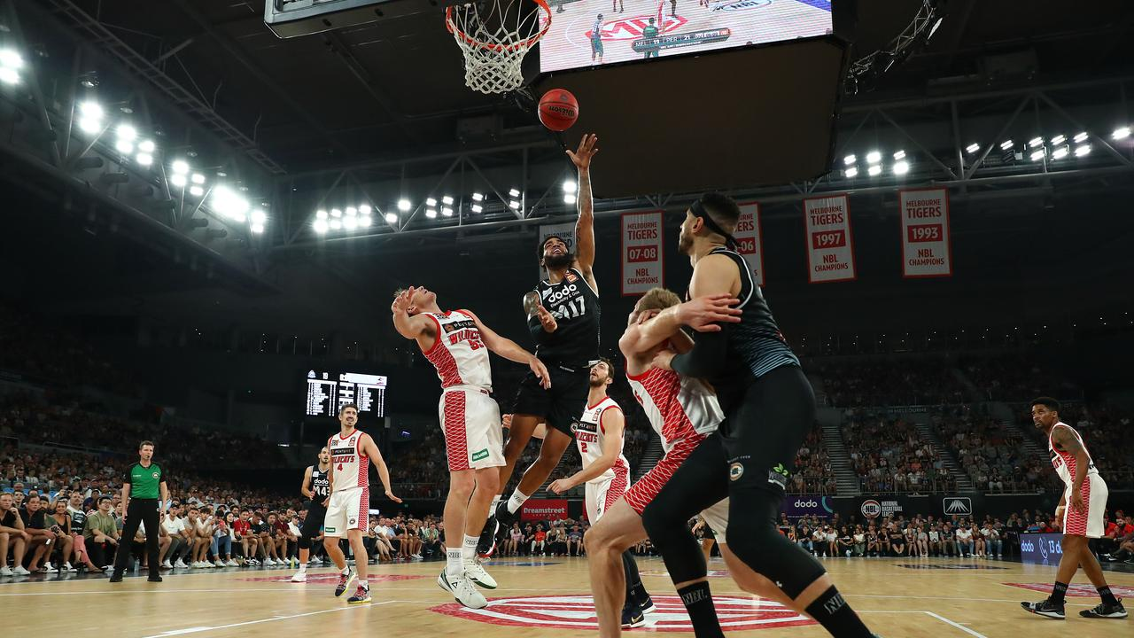 Basketball Hoop Perth Wildcats And Melbourne United Hold Aces For Nbl Finals