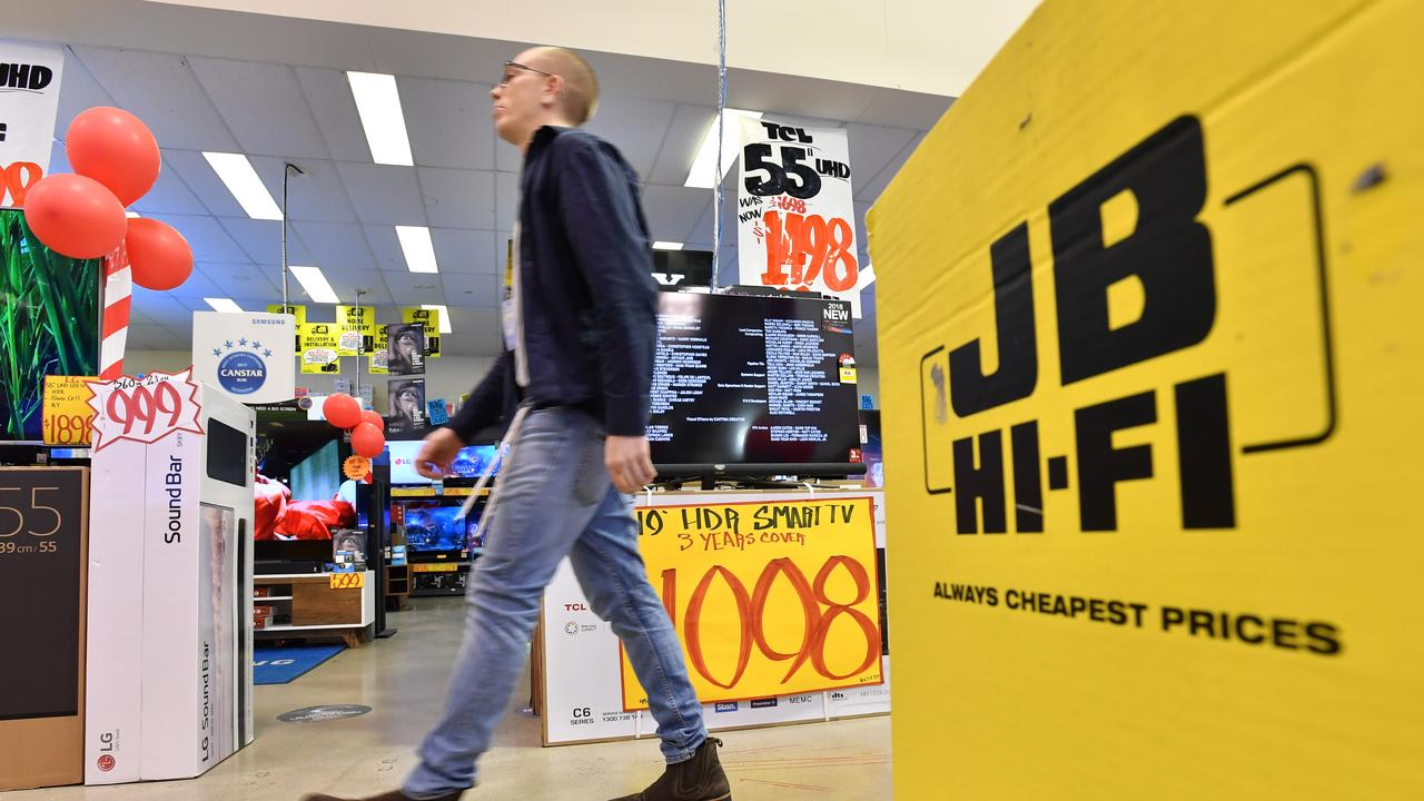 Jb Hi Fi Lighting Housing Slowdown Hurting Retailers
