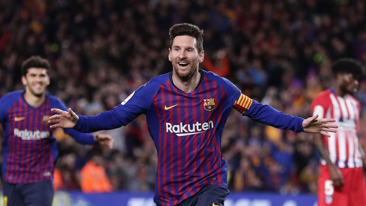 Leo Messi Lionel Messi Video News Barcelona Vs Atletico Madrid Score