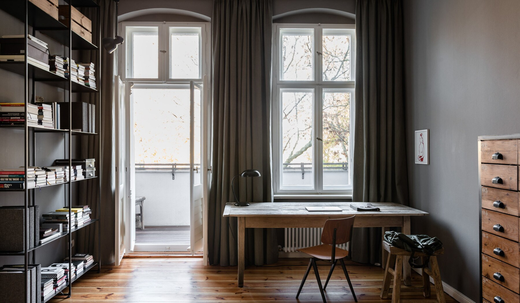 Berlin Interior Design Inside A 19th Century Berlin Apartment With A Minimalist Update