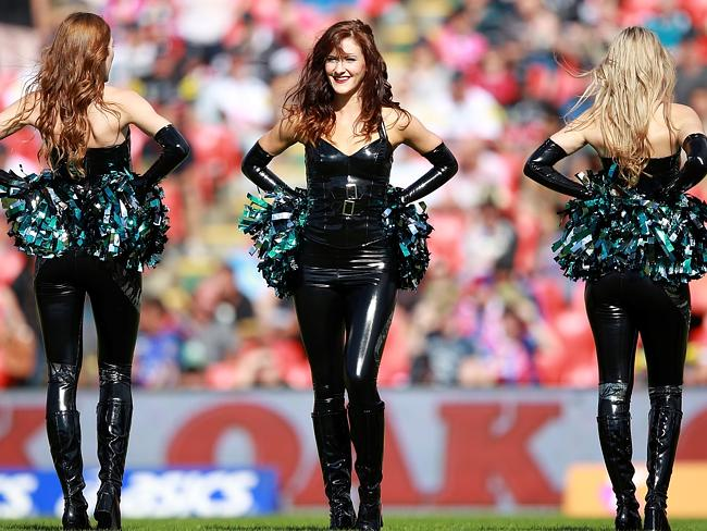 49er Wallpaper Girl New Look Panthers Cheer Squad Turn Up The Heat In The Nrl