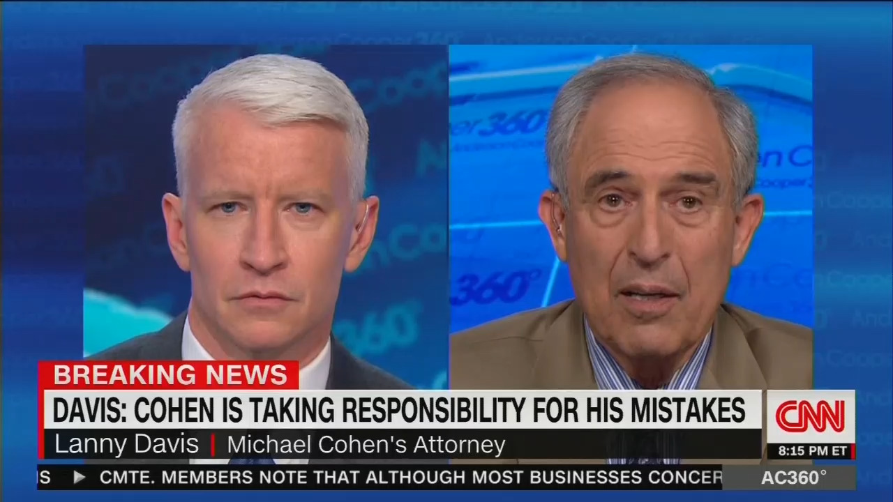 Cnn Networks Punt On Lanny Davis Blowing Huge Hole In Cnn S Trump