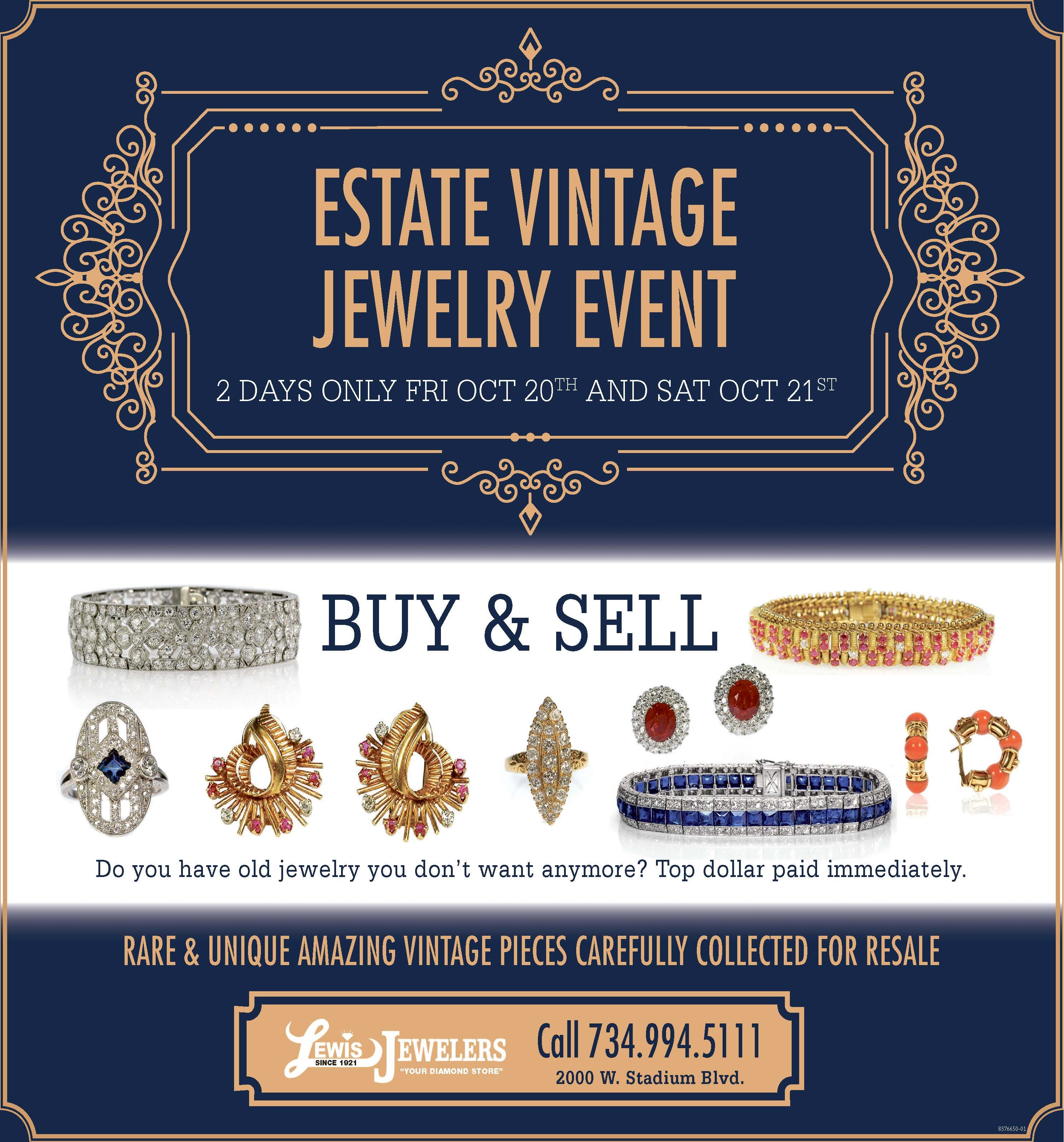 Fullsize Of Estate Jewelry For Sale