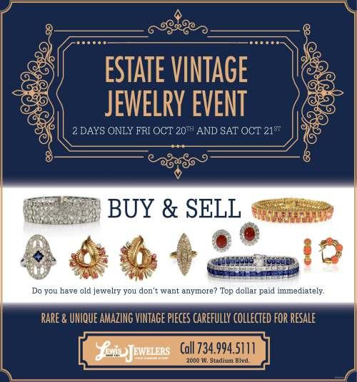 Medium Of Estate Jewelry For Sale